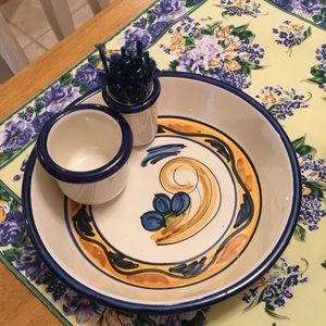 Other - Italian hand-painted olive dish. Flawless.